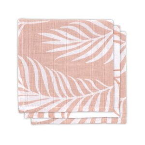 Mull Mundtuch Nature pale pink (3pack)